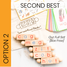 Load image into Gallery viewer, Phonics toy set for the new reader Imperfect Set