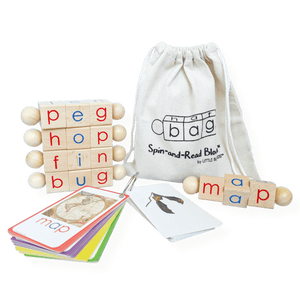 Spin-and-Read Phonetic Reading Blocks BASIC Set
