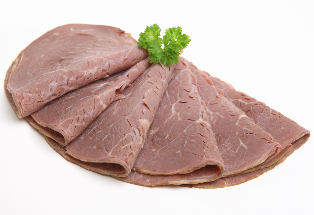 Cooked Beef Slices