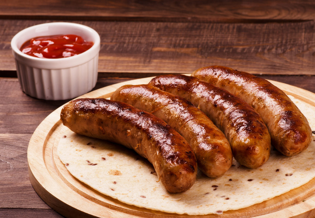 Large Pork & Cracked Black Pepper Sausages (now by weight)