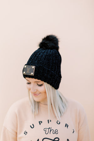 Lux Beanie // Pitch Black