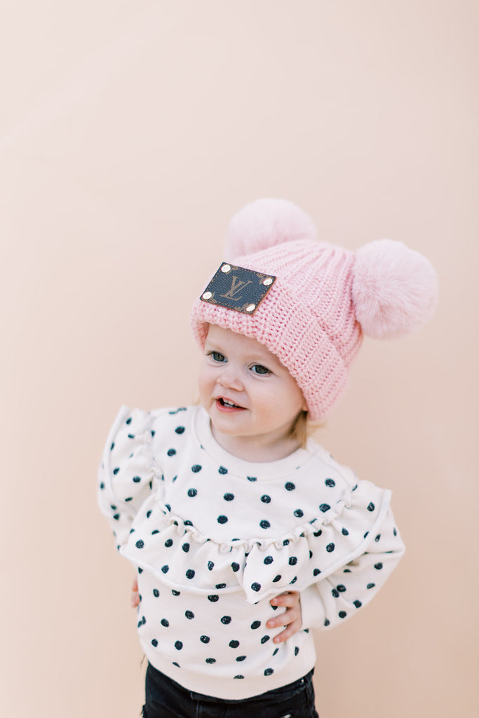 Mini Lux Beanie // Pretty in Pink