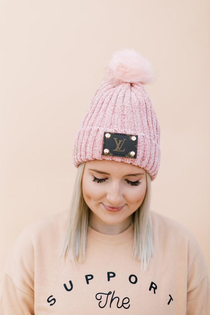 Lux Beanie // Pretty in Pink