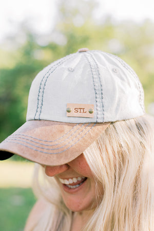 Light Denim Hat // Customize Me