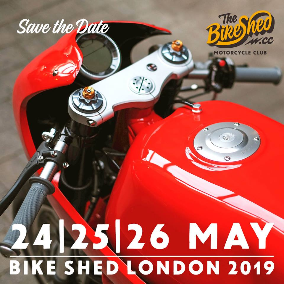Bike Shed London 2019 poster