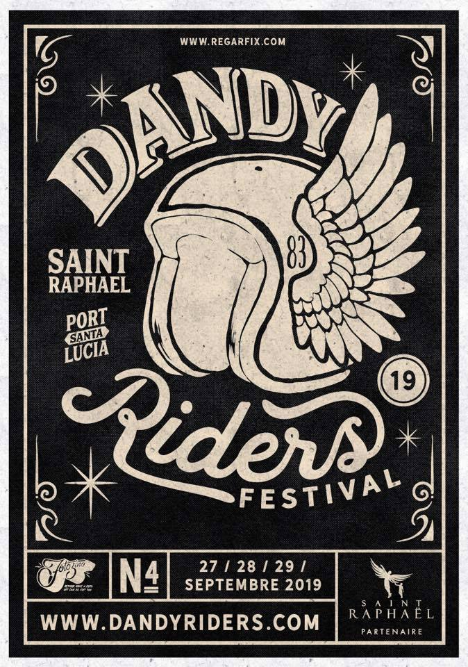 Dandy Riders Festival 2019 poster