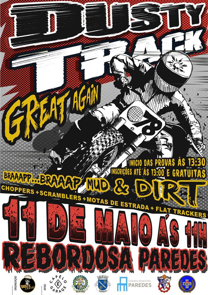 Dusty Track Great Again 2019 poster