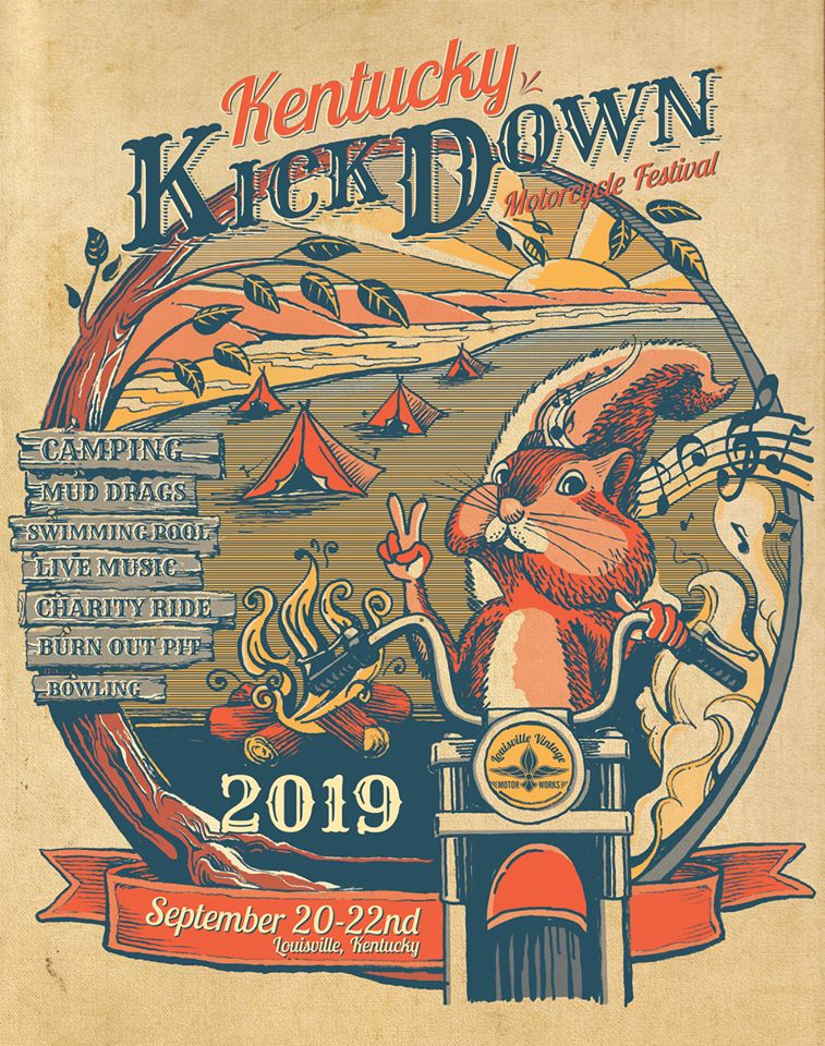 Kentucky Kick Down Festival 2019 poster