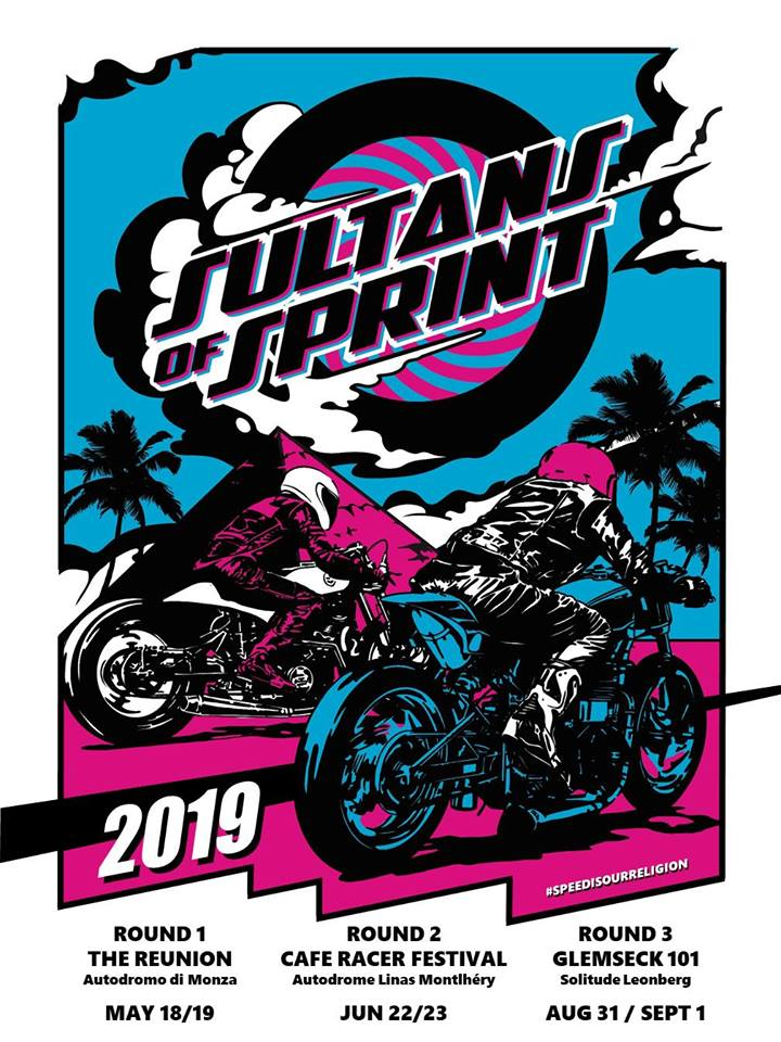 Sultans of Sprint 2019 poster