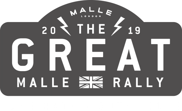 The Great Malle Rally 2019 logo
