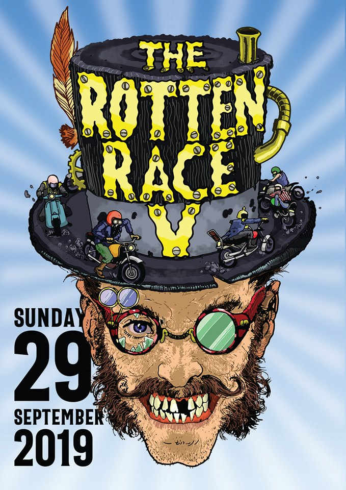 The Rotten Race Athens 2019 poster