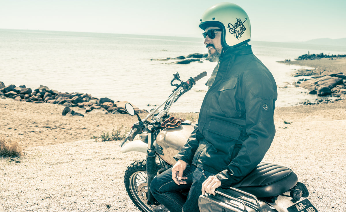 Waxed TROPHY Jacket - Armalith Armour Motorcycle Jacket