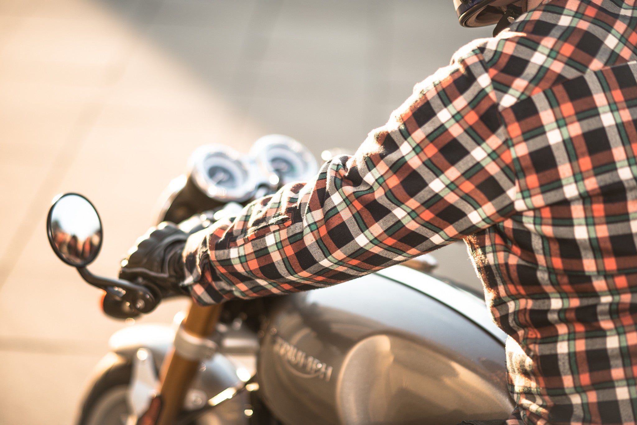Slim fit Shirt - SAVVY - motorcycle armour shirt