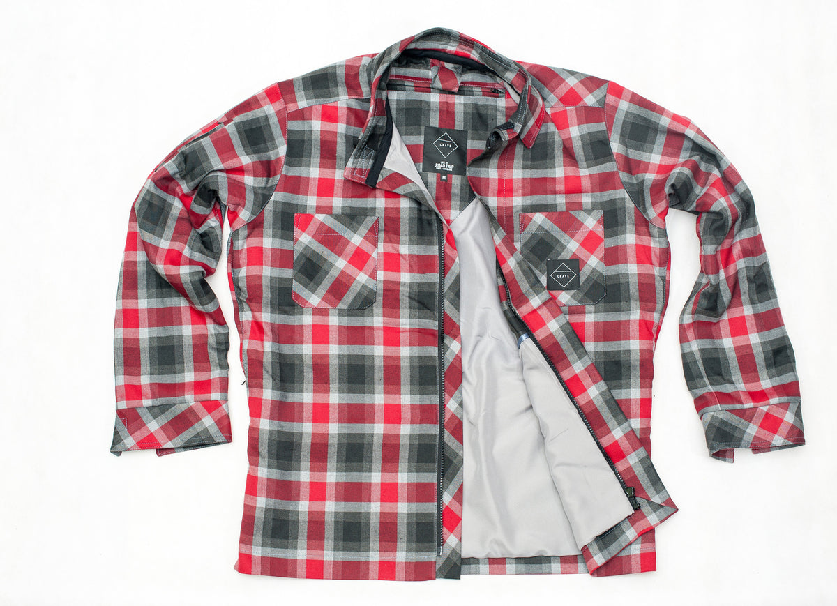 AXE 2 Motorcycle SHIRT - FLAME - Internal: 100% DuPont™ Kevlar® Outer: Cotton/Microfibre