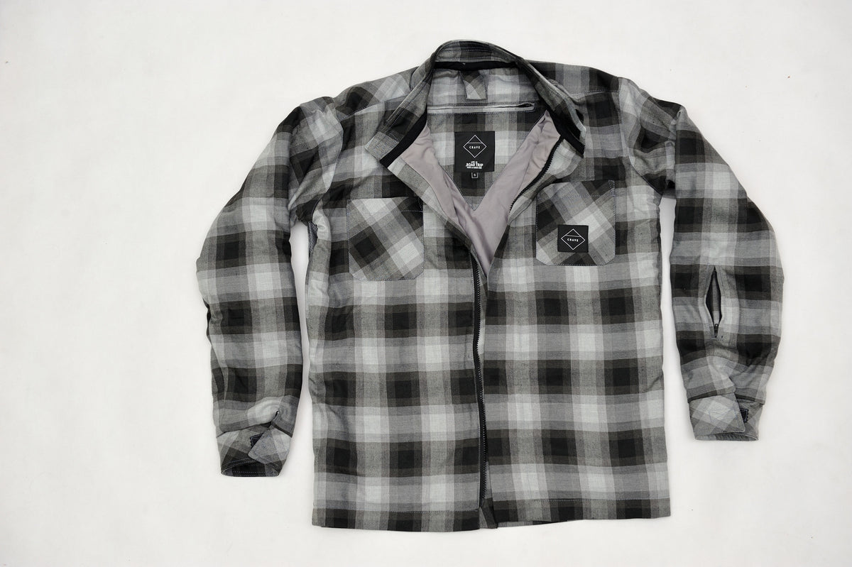 AXE2 Motorcycle SHIRT - FOX - Internal: 100% DuPont™ Kevlar® Outer: 99% Cotton