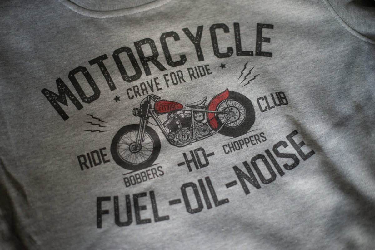 Bobber Motorcycle Sweatshirt - We Make Our Own Rules