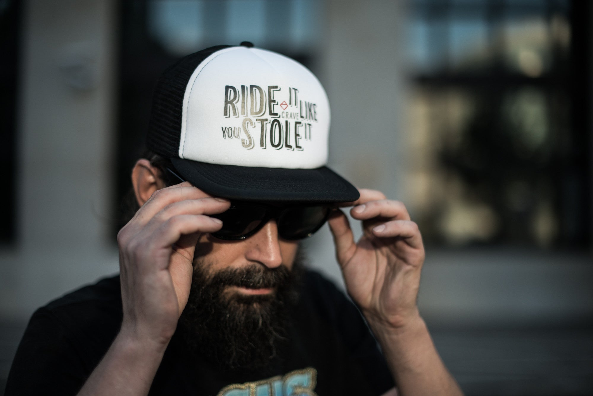 - Ride it like You stole it - Crave snap back cap