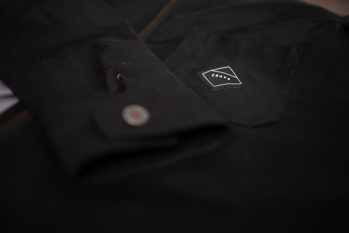 MONTANA COTTON Motorcycle Shirt - Black – Internal: 100% DuPont™ Kevlar® Outer: 99% Cotton