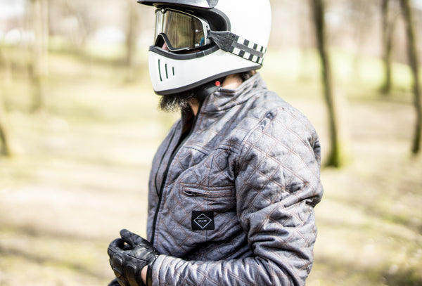 Quilted Duke Jacket  - motorcycle armour jacket