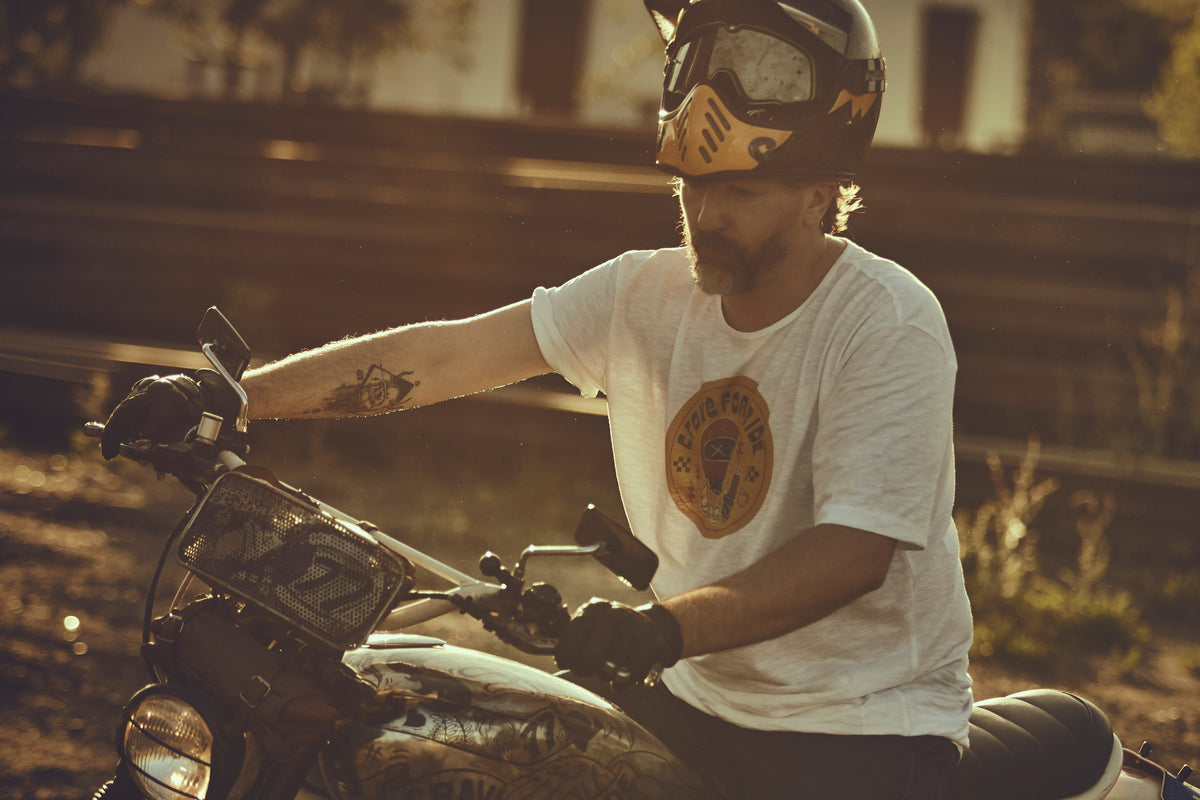 Motorcycle T-shirt - Crave Dude