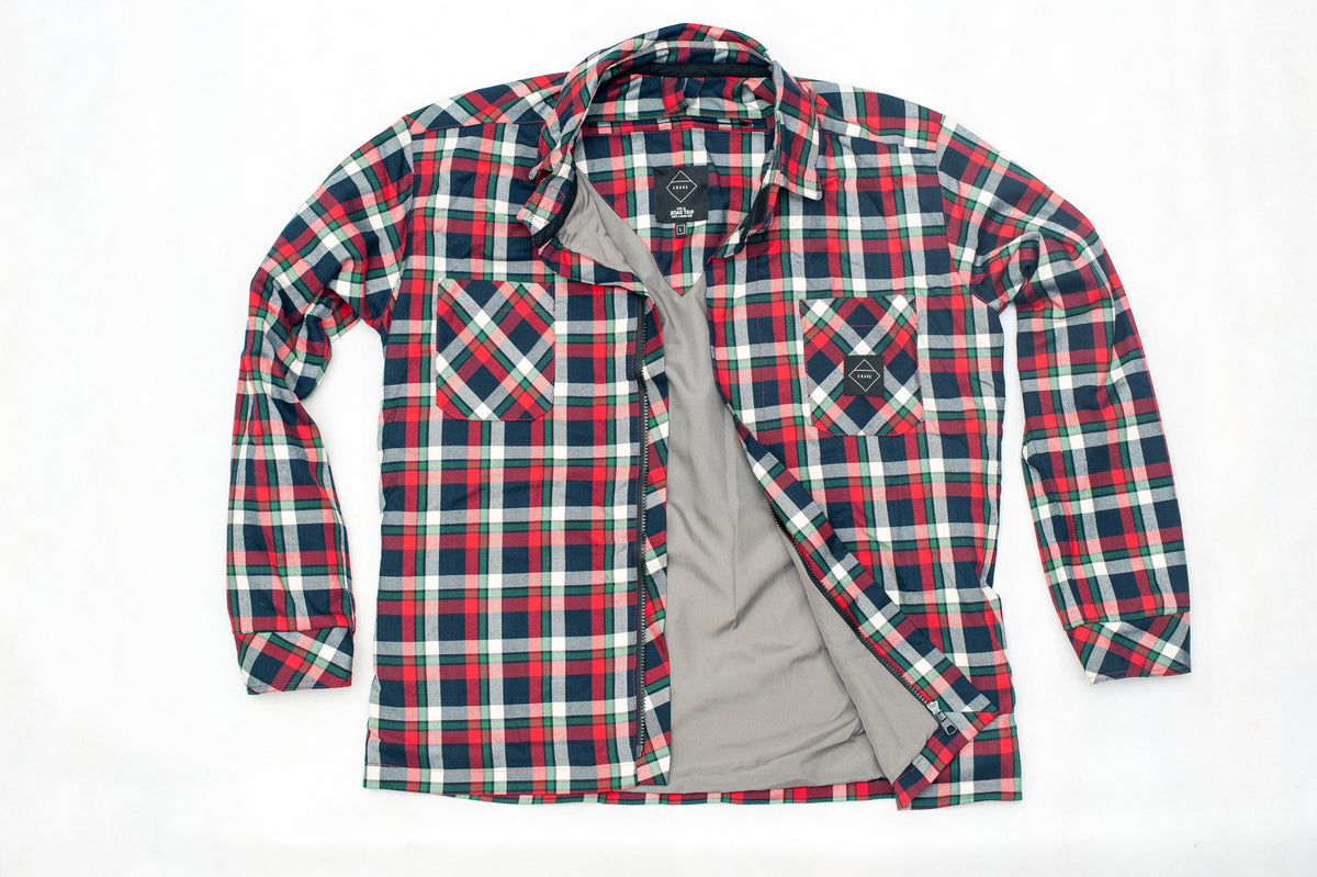 SAVVY Motorcycle Shirt - Internal: 100% DuPont™ Kevlar® Outer: 98% Cotton 2% Acrilic