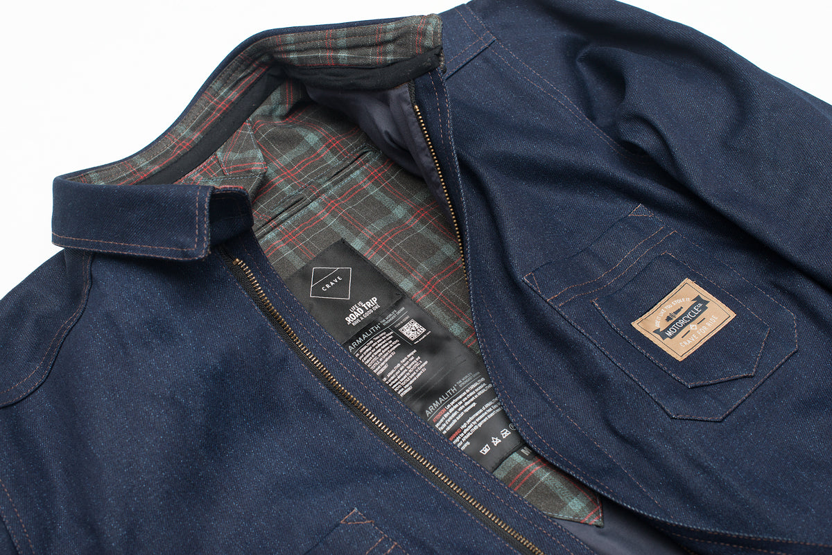 MONTANA Motorcycle Jacket / Shirt  - Armalith denim - worlds strongest denim motorcycle shirt