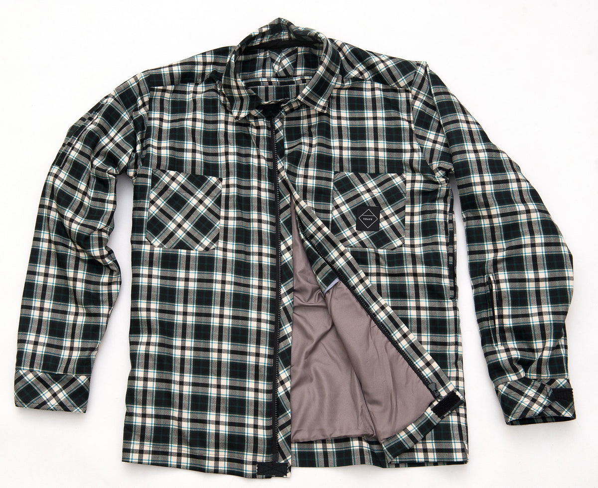 AXE2 Motorcycle Shirt - FSC - Internal: 100% DuPont™ Kevlar® Outer: Microfibre