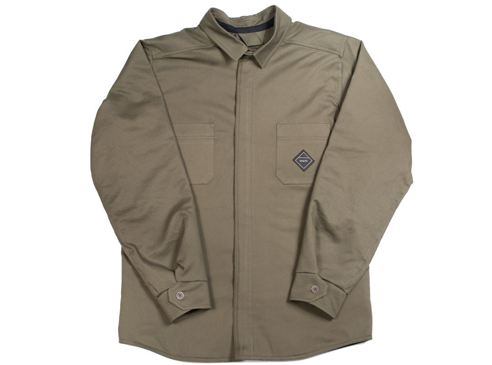FOREST Motorcycle Shirt - Internal: 100% DuPont™ Kevlar® Outer: cotton or polyester fleece