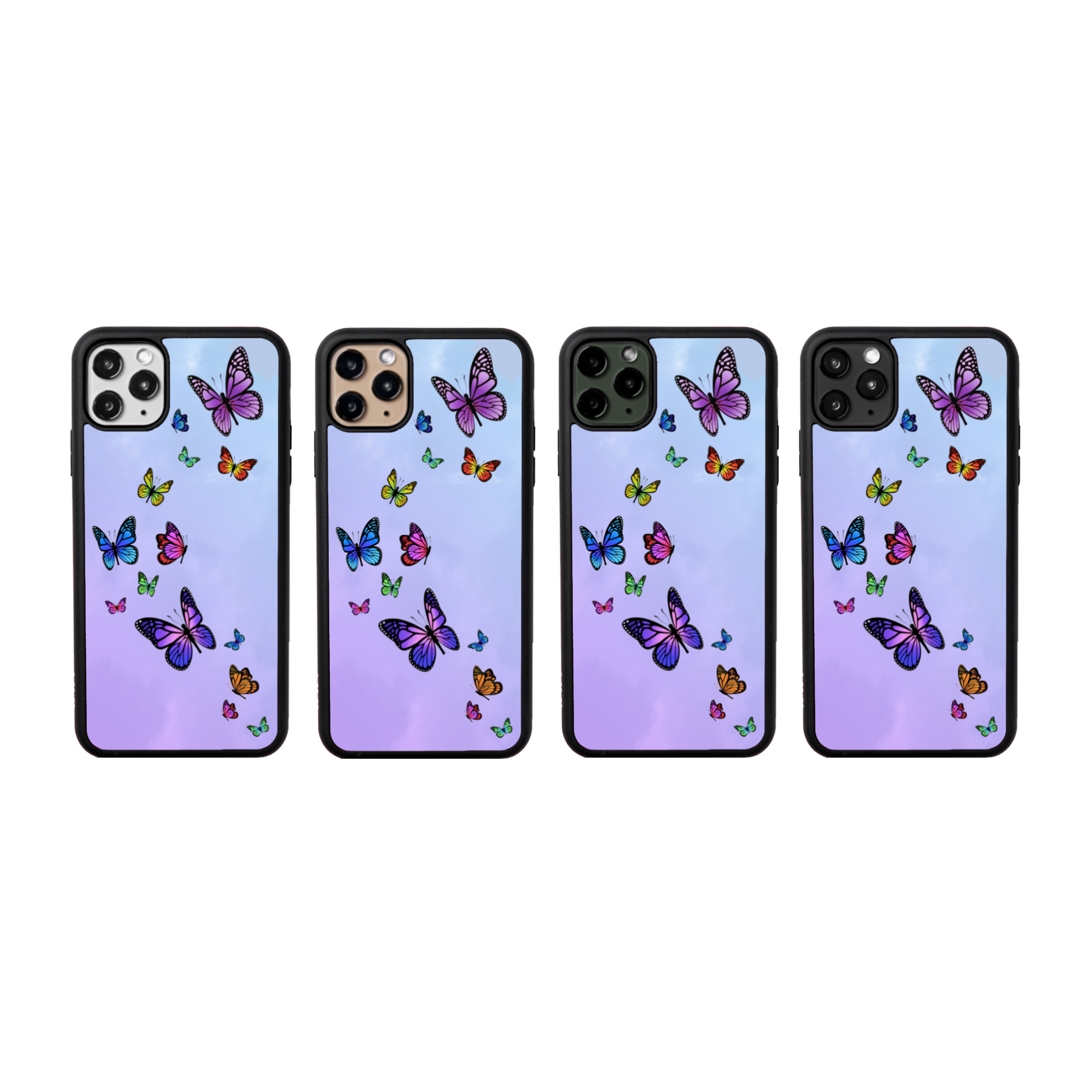 Butterfly Sky iPhone Case