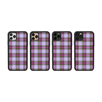 Load image into Gallery viewer, Lilac Plaid iPhone Case
