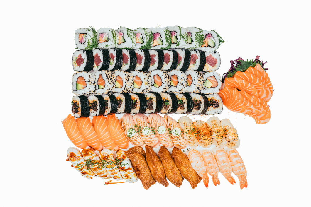 Sushibar+Wine: Super Set (68PCS)
