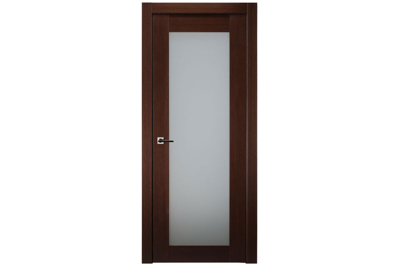 Belldinni 1 Lite French Wenge Wood Veneer Modern Interior Door