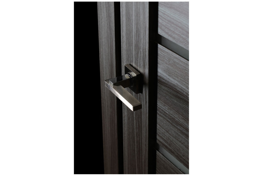 Belldinni Alba Gray Oak Laminated Modern Interior Door