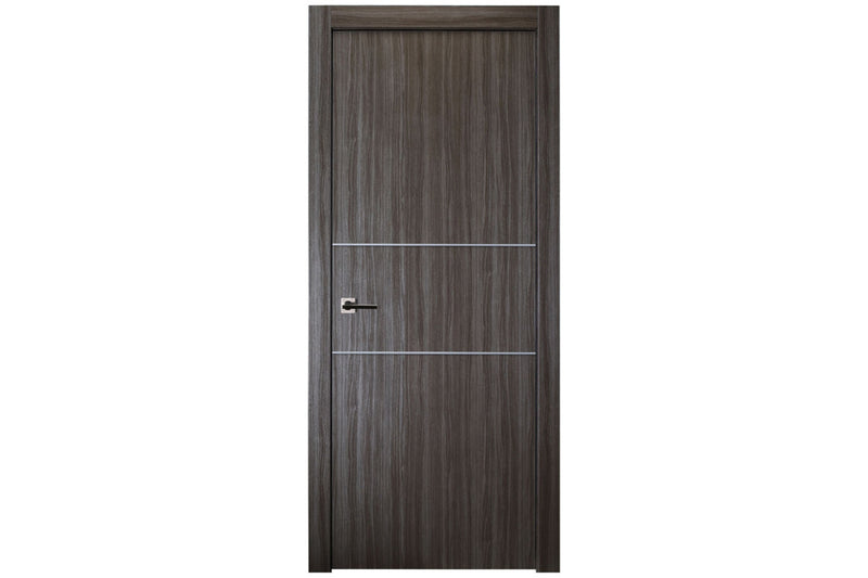 Belldinni Palladio 2H Gray Oak Modern Interior Door