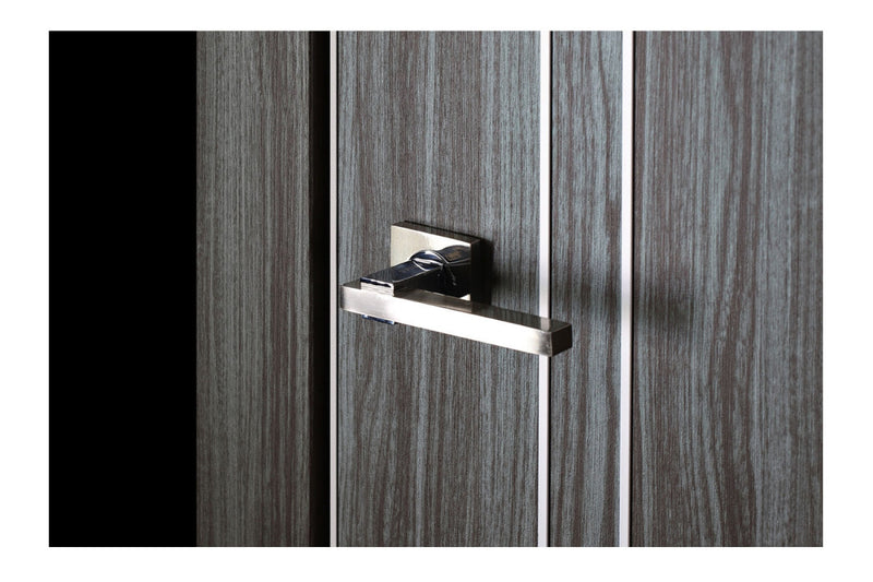 Belldinni Unica 208 Gray Oak Laminated Modern Interior Door