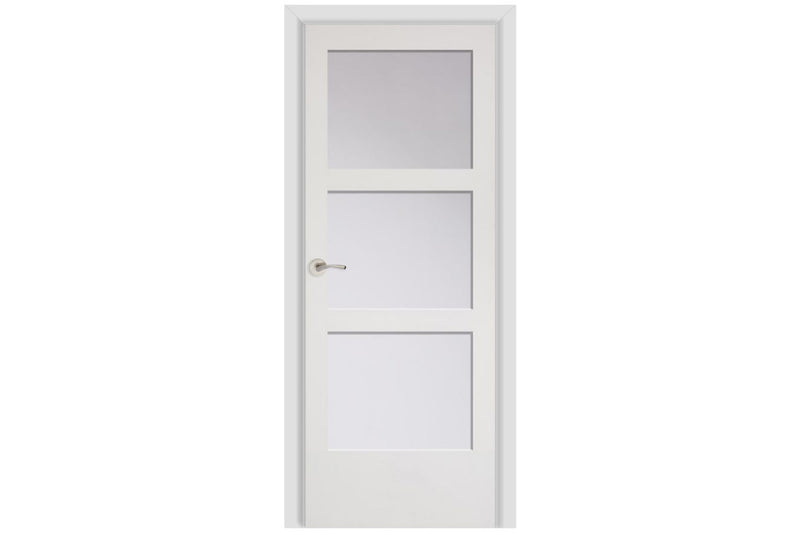 Masonite French 3 Panelite Equal Wood Interior Door (C30 w/ glazing)