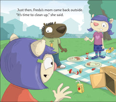 Freda Plans a Picnic (cognitive skills / sequencing)