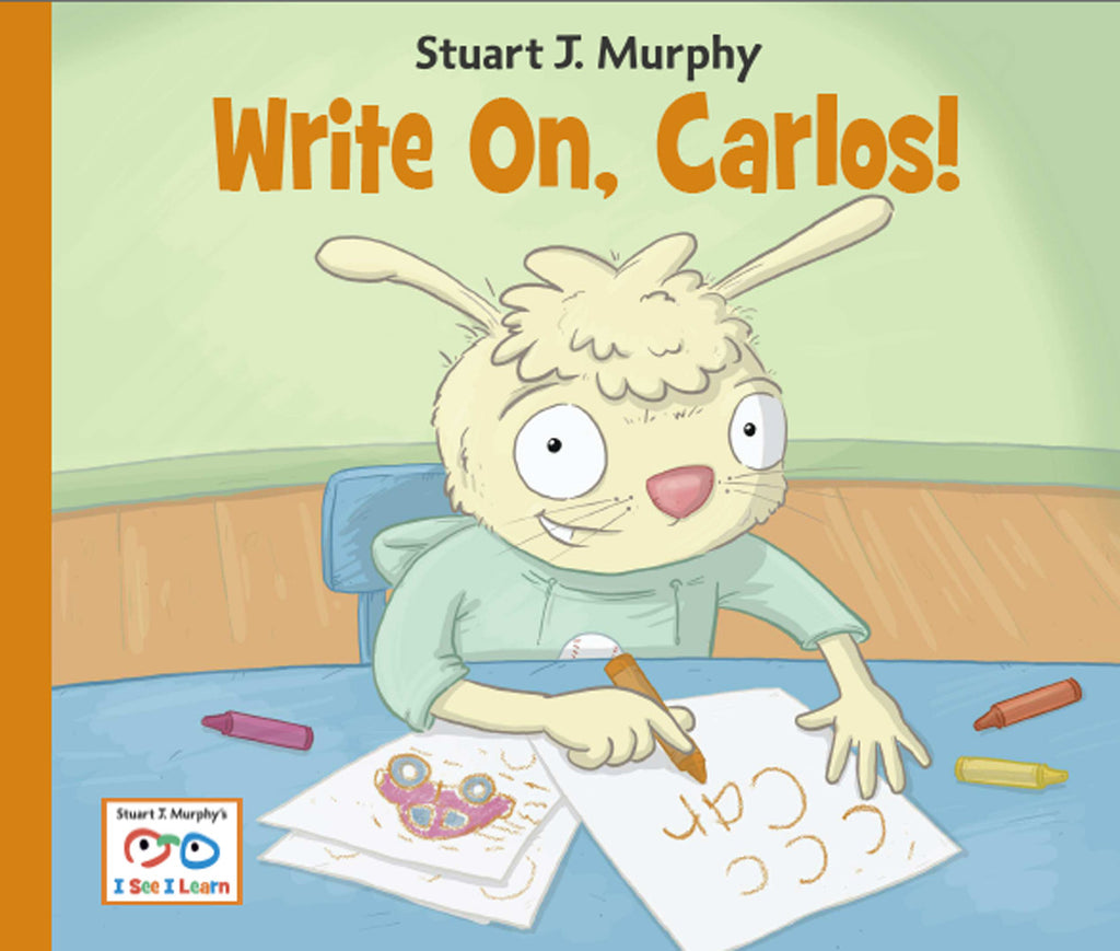 Write On, Carlos (cognitive skills, writing your name)