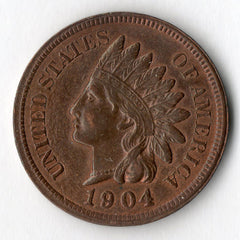 1904 Indian Head Cent (Indian Head Penny)