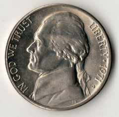 1971-D Jefferson Nickel - Uncirculated