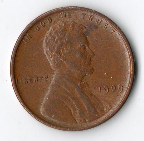1909 Vdb Lincoln Cent Wheat Penny Nkacoins