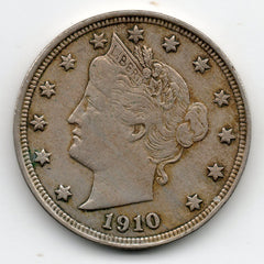 1910 Liberty Head Nickel (V Nickel)