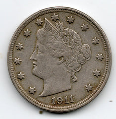 1911 Liberty Head Nickel (V Nickel)