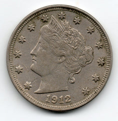 1912-P Liberty Head Nickel (V Nickel)
