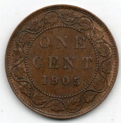 Canada Large Cent 1905 (Penny)