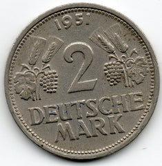 Germany 2 Mark 1951 G
