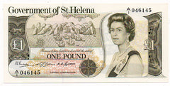 St. Helena 1 Pound 1976 (P-62) Uncirculated