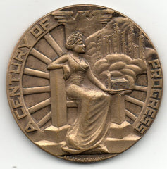 Century of Progress Medal 1933 (HK-467)