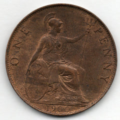 Great Britain 1 Penny 1900 - Queen Victoria