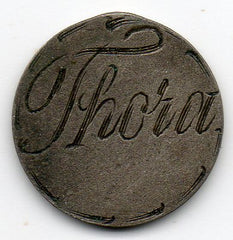Love Token - THORA (80.0% Silver)